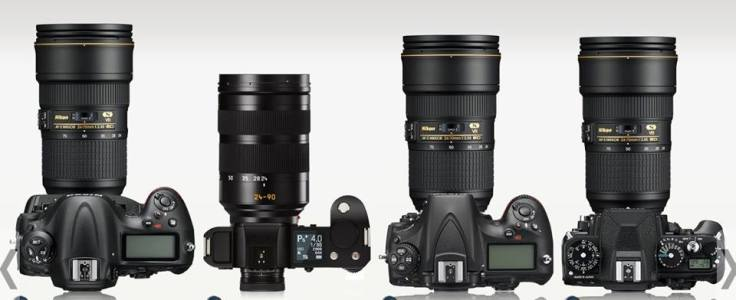 D4s with 24-70/2.8 VR - SL with 24-90/2.8-4 - D810 with 24-70/2.8 VR - Dƒ with 24-70/2.8 VR