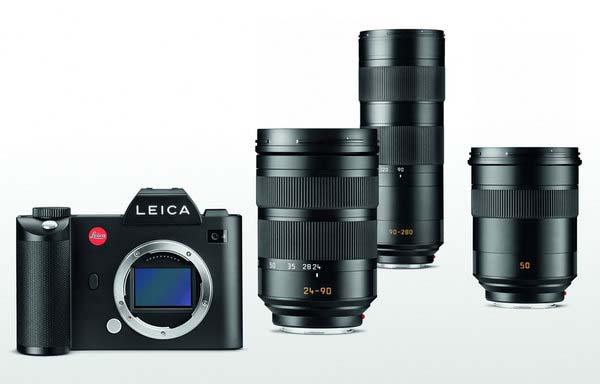 Leica SL, 24-90/2.8-4. 90-280/2.8-4, 50/1.4